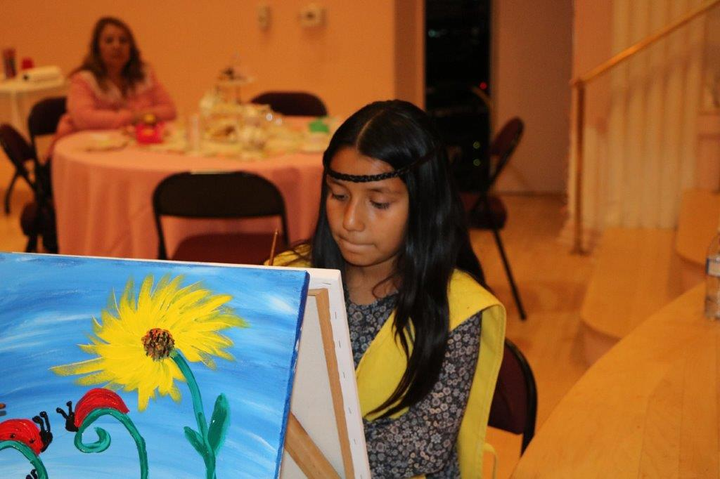 young artist in the making