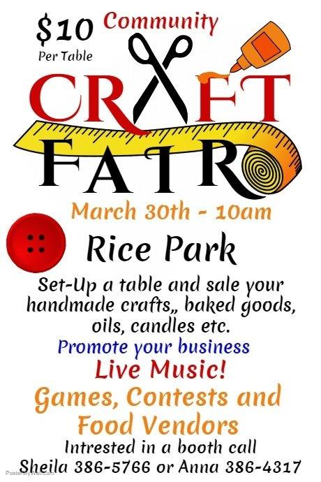 community craft fair