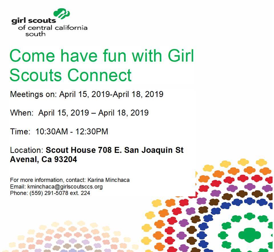 Girl Scouts Avenal Spanish
