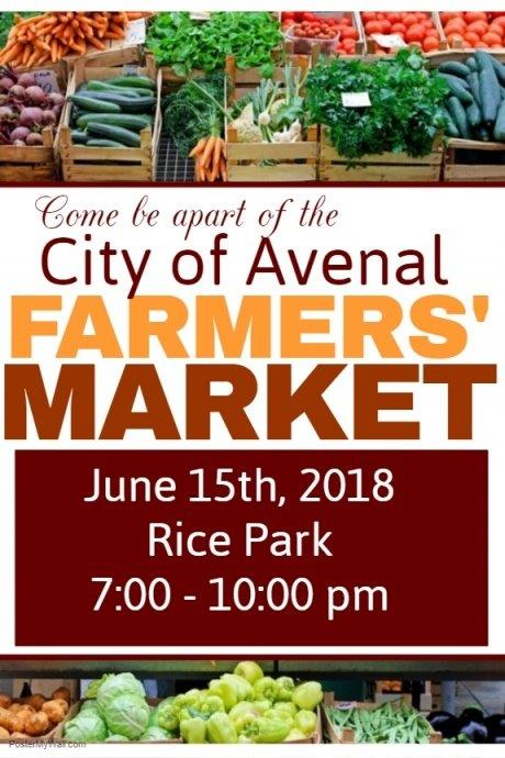Avenal June 2018 Farmers Market